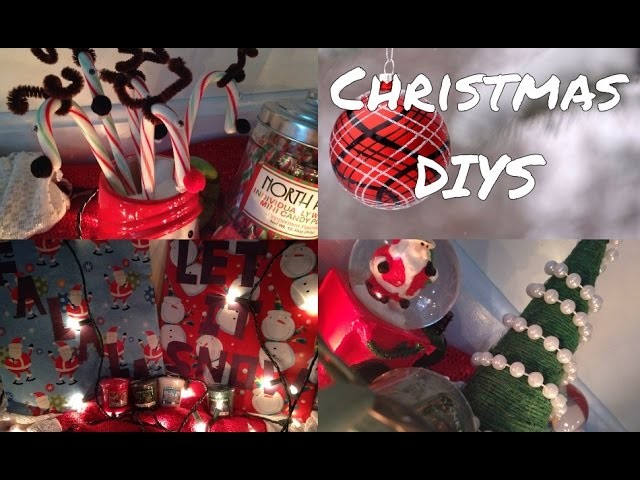 DIY Christmas Decorations + Gifts! Last Minute Quick & Easy Holiday Crafts