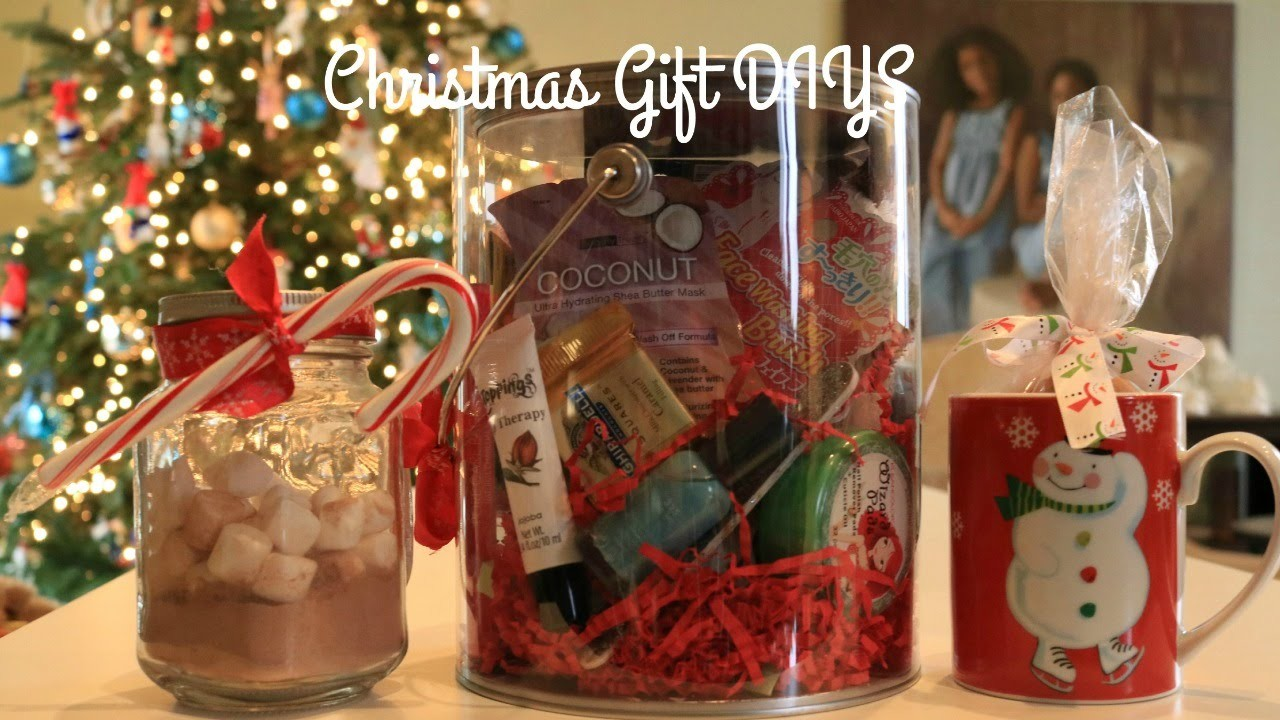 DIY Christmas Gifts   For Friends and Family!