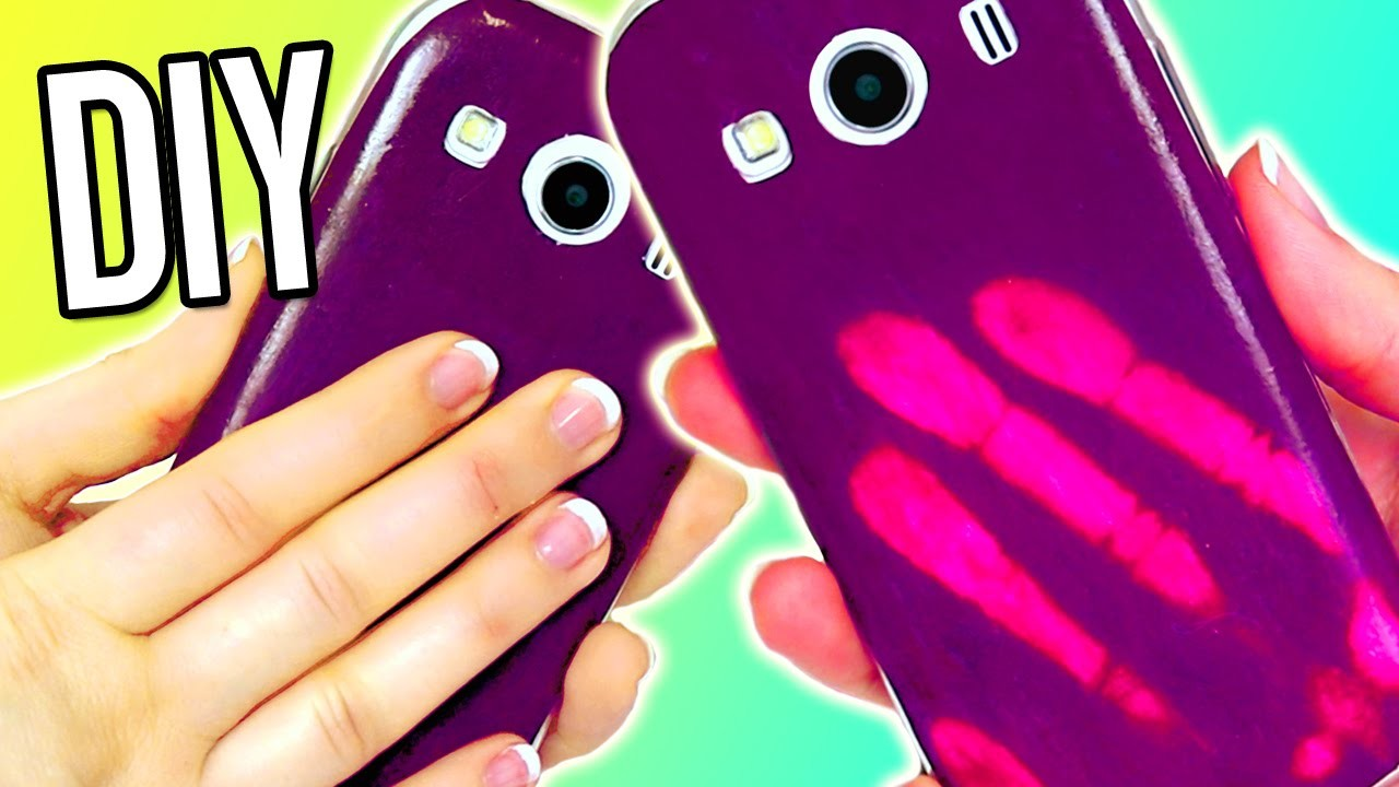 DIY COLOR CHANGING Phone Case! MOOD Iphone?! EASY
