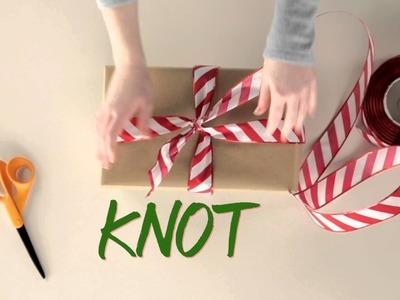 DIY Gift-Wrap Bow Hack