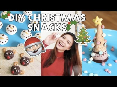 DIY.HACKS EASY(NO BAKE) Christmas Snacks {INDONESIA}