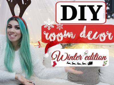 DIY Holiday Room Decor ❅ Winter.Christmas Edition
