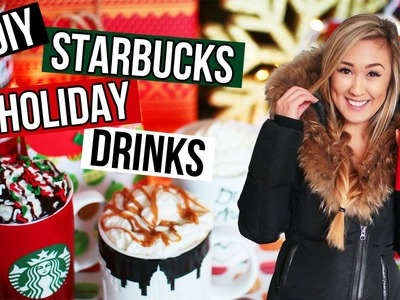 DIY Holiday Starbucks Drinks: Easy Recipes for Christmas Drinks | LaurDIY