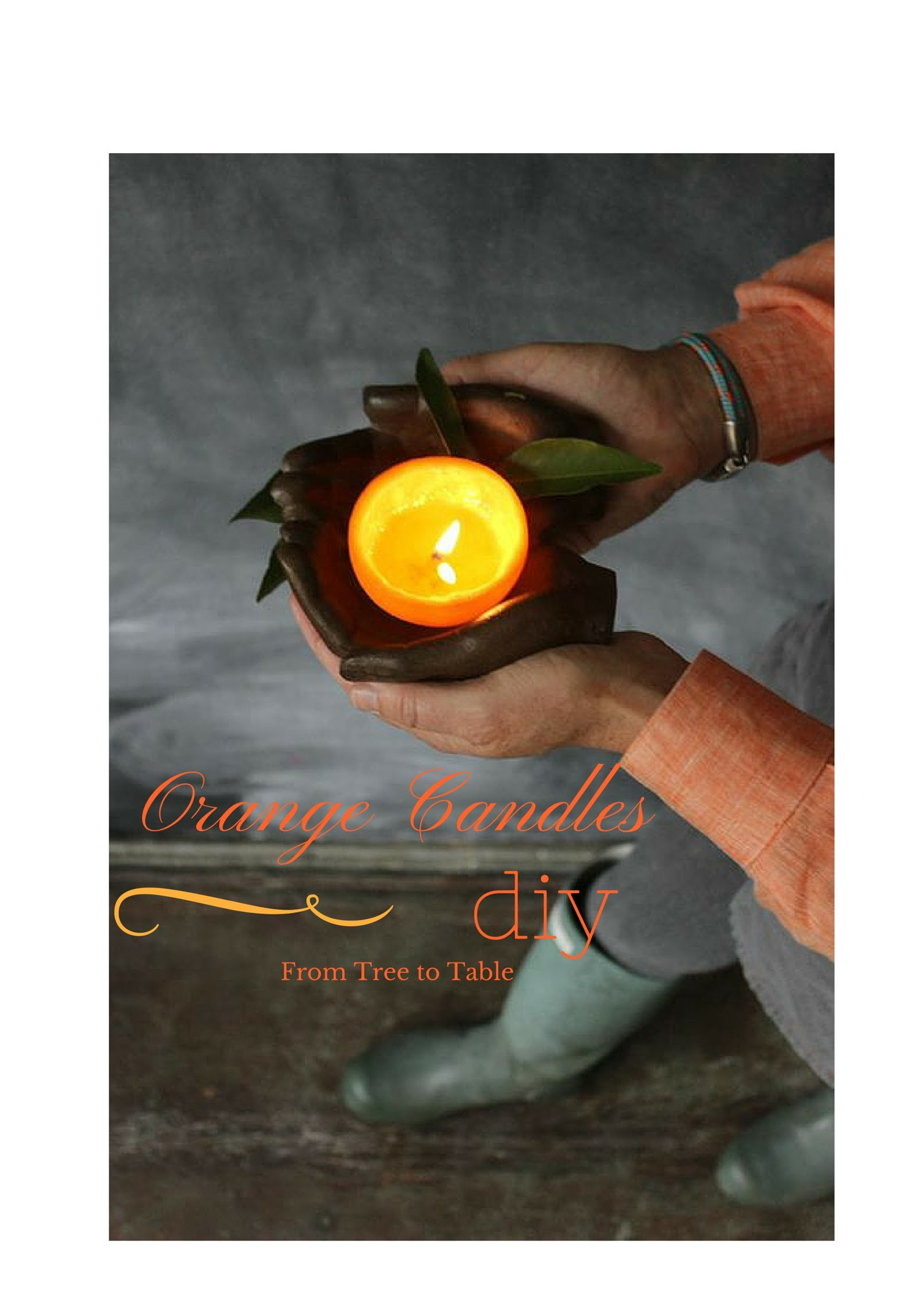 DIY: How to Make a Candle From an Orange