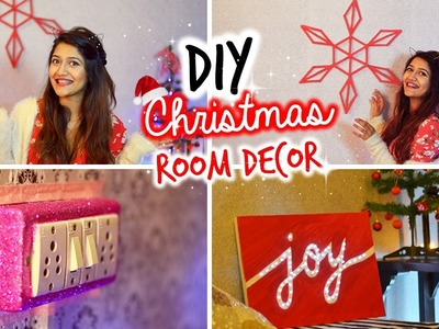 DIY: Last Minute Christmas Room Decor & Ideas 2015