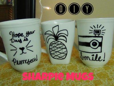 DIY Sharpie Mugs! DIY Idea ♥