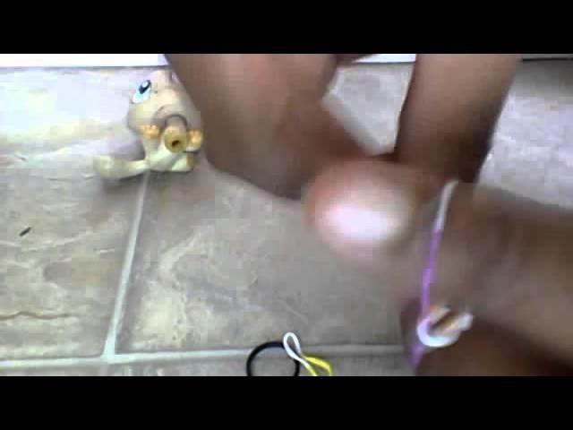 DIY singlet rainbow loom bracelet without the loom
