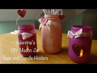 DIY | Valentine Mason Jars :: Gifts and Decor