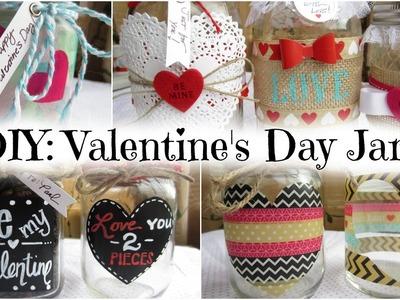 DIY: Valentine's Day Jars