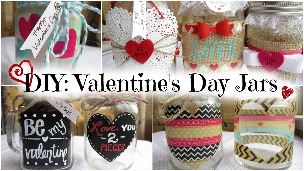 DIY: Valentine's Day Jars
