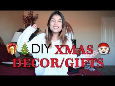 DIY X-MAS DECOR.GIFTS | Jessica Valadez