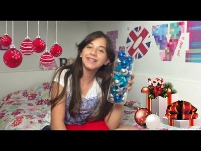 Especial de Natal #7 DIY Decoração de Natal do meu Quarto ( Room Decor for Christmas