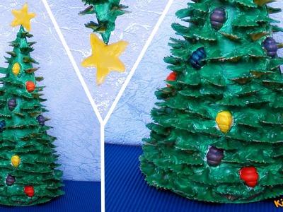 How to make a Pasta Christmas Tree? DIY