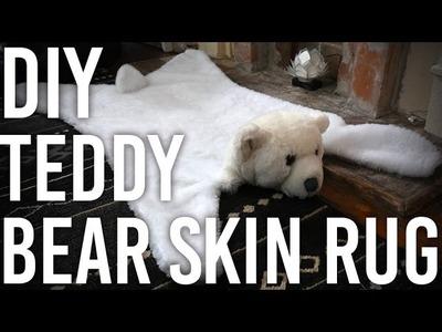 How to Make a Teddy Bear Skin Rug : DIY