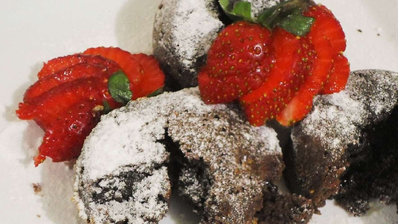 How To Make Instant Choco Lava Cake In A ToasterOven - DIY Food & Drinks Tutorial - Guidecentral