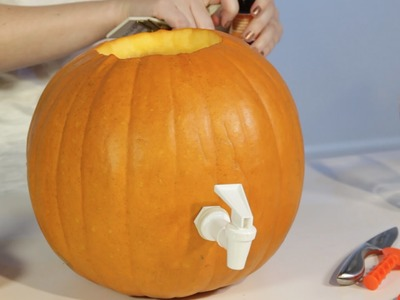 How to Turn a Pumpkin Into a Beer Keg | DIY | Mashable