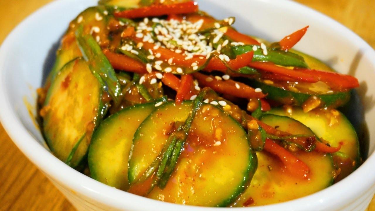Make a Korean Cucumber Kimchi Salad - DIY Food & Drinks - Guidecentral