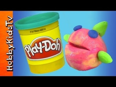 PLAY-DOH Makeables Ocean Guppy Fish - DIY, How to Make a Fish, Undersea Creature