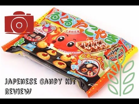 Popin' Cookin' Kuru Kuru Takoyaki Octopus Balls Japanese DIY Candy Kit
