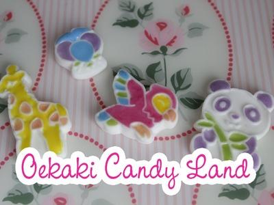 Popin Cookin Oekaki Candy Land DIY Kit