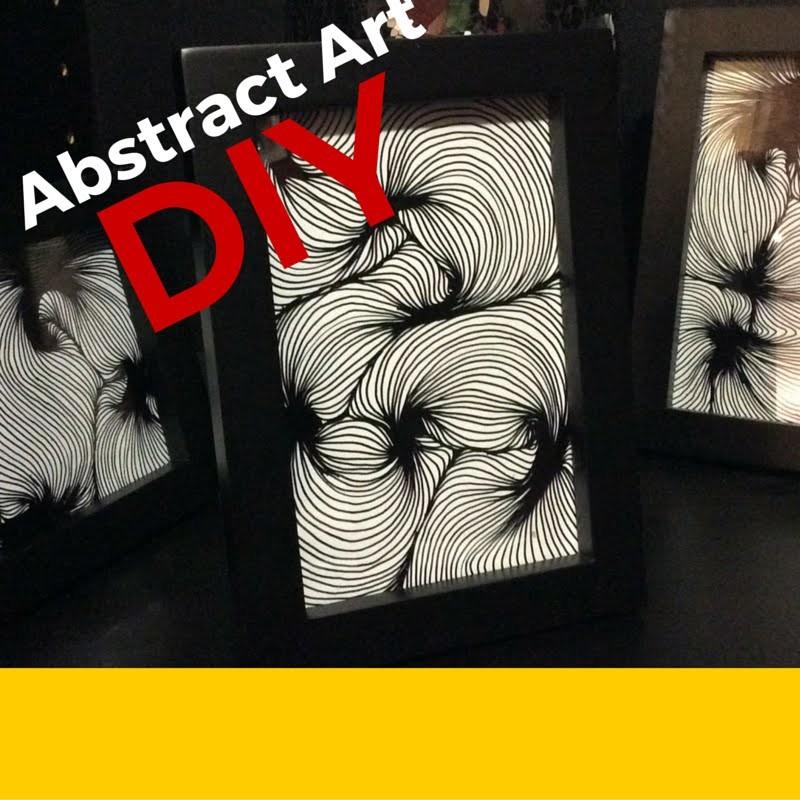 VERY EASY DIY Abstract Art