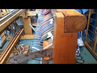 2 How to use a Sectional Beam: Warping a Floor Loom