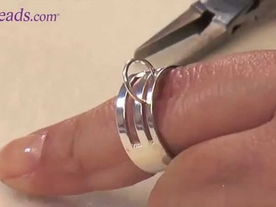 Artbeads MiniVid - How to Use a Jump Ring Opener