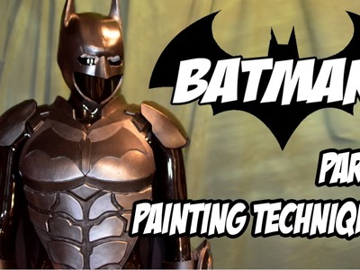 Batman Arkham Knight Armor How to DiY Costume Cosplay Part 6
