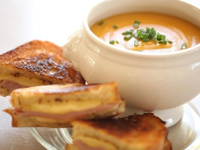 Beth's Grilled Cheese & Soup Recipes: Full Menu (Sandwiches Mozzarella Cheddar Brie) || KIN EATS