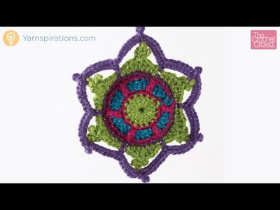 Crochet Jewelled Snowflake Tutorial