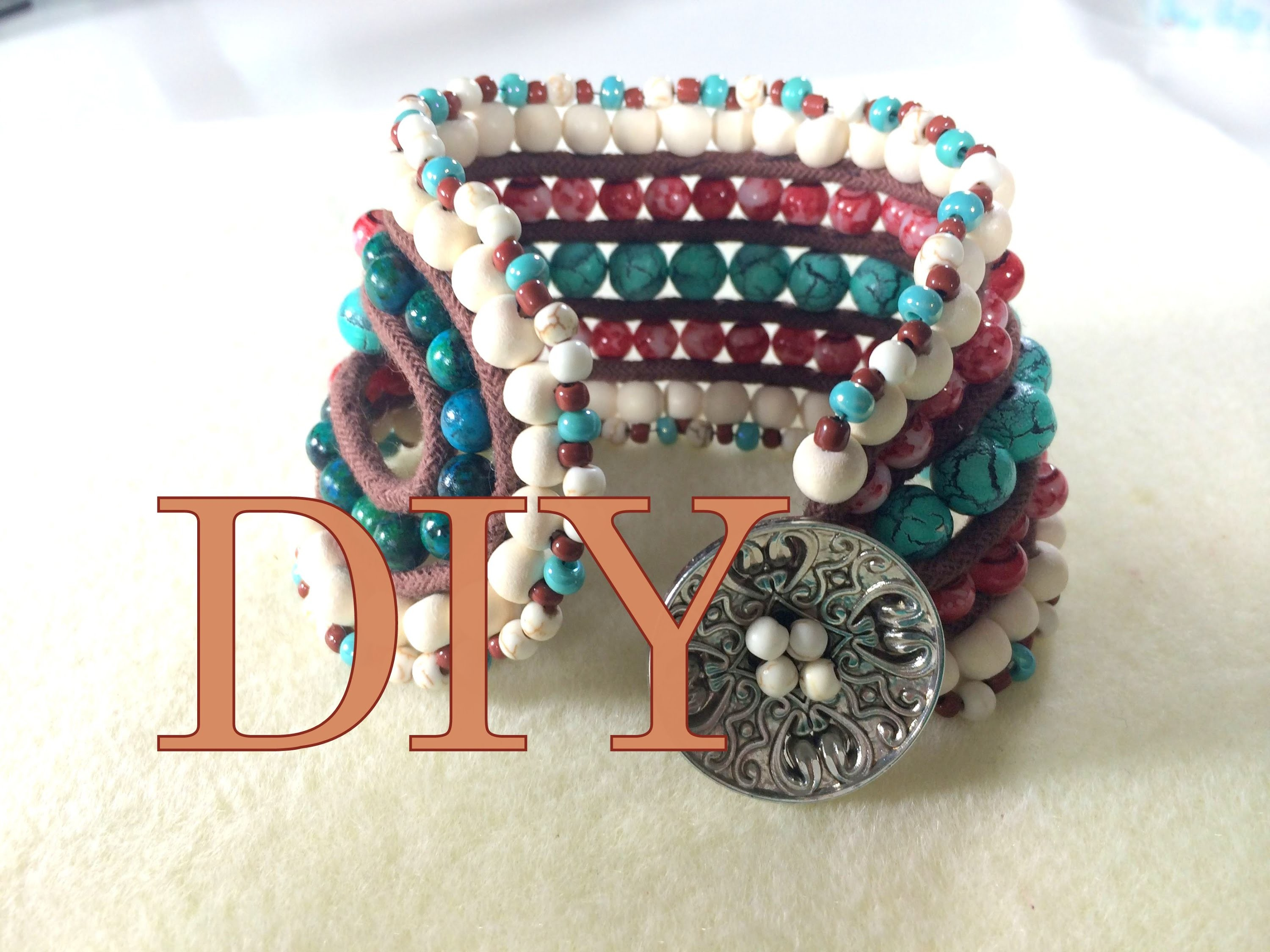 DIY #3 - HOW TO MAKE A 5 LAYER BRACELET