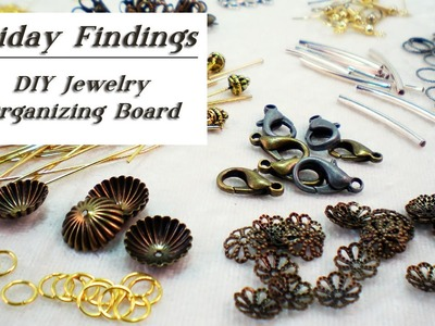 Friday Findings DIY Jewelry Organizing Board