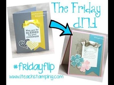 Friday Flip Making a Sympathy Card