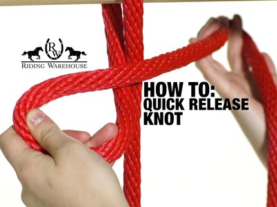 How To Correctly Tie a Quick Release Knot