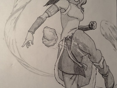 HOW TO DRAW KORRA!! Awesome the Legend of Korra