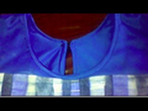 How To Hem Neckline  & Armhole Area Of A Sleeveless Shirt