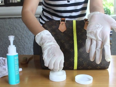 HOW TO : LOUIS VUITTON Canvas cleaning