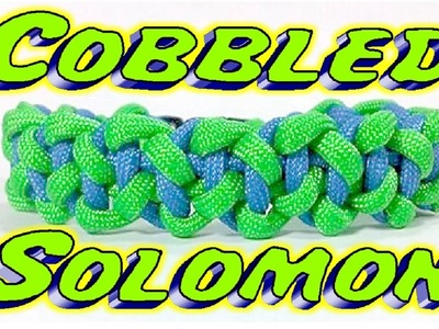 How to Make a Cobbled Solomon Bar Bracelet With Buckles