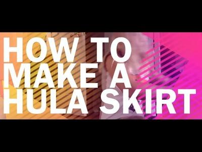 How to Make a Hula Skirt