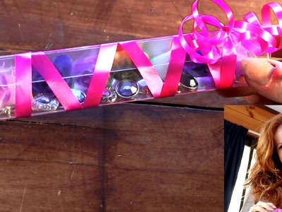 How to make a triangular gift box from plastic bottle - recycling