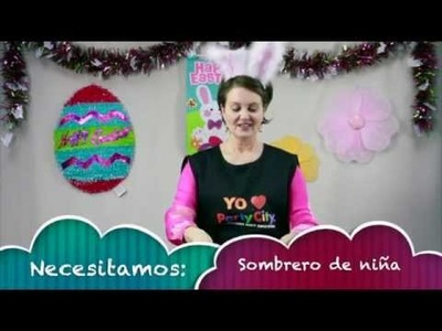 How to make an Easter Hat for Girl - Idea de Sombrero de Easter para niñas - Party City