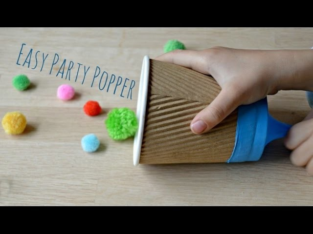 How to Make an Easy Party Popper