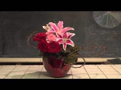How To Make an Elaborate Valentine's Day Flower Arrangement
