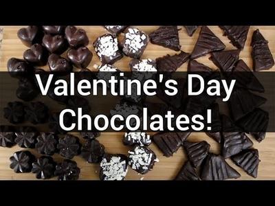 How to Make Valentine's Day Chocolates!