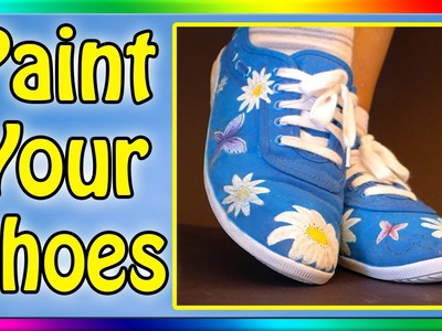 How To Paint Your Shoes