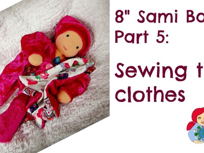 How to sew the clothes, diaper and blankie for a cloth doll baby