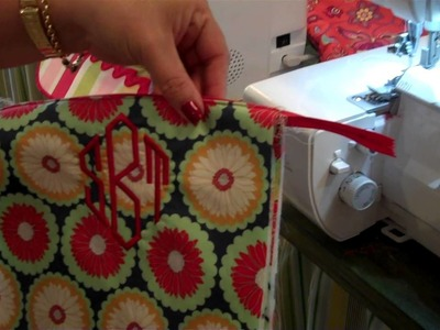 How to use your serger to put on a zipper.
