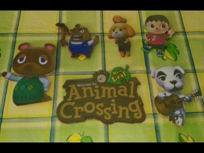 Imanes nevera Animal Crossing.manualidades.niños