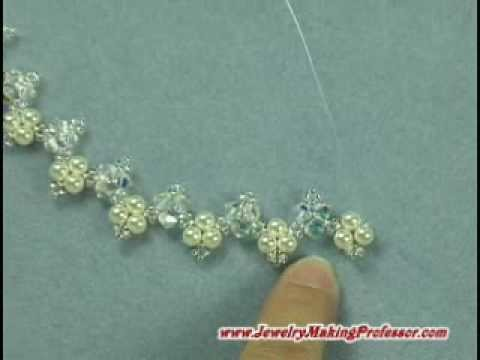 Jewelry Making Video - Picot Necklace