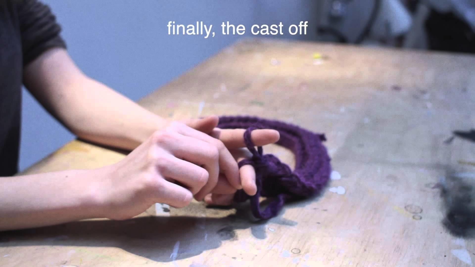 Nicole Line Workshops - Finger Knitting